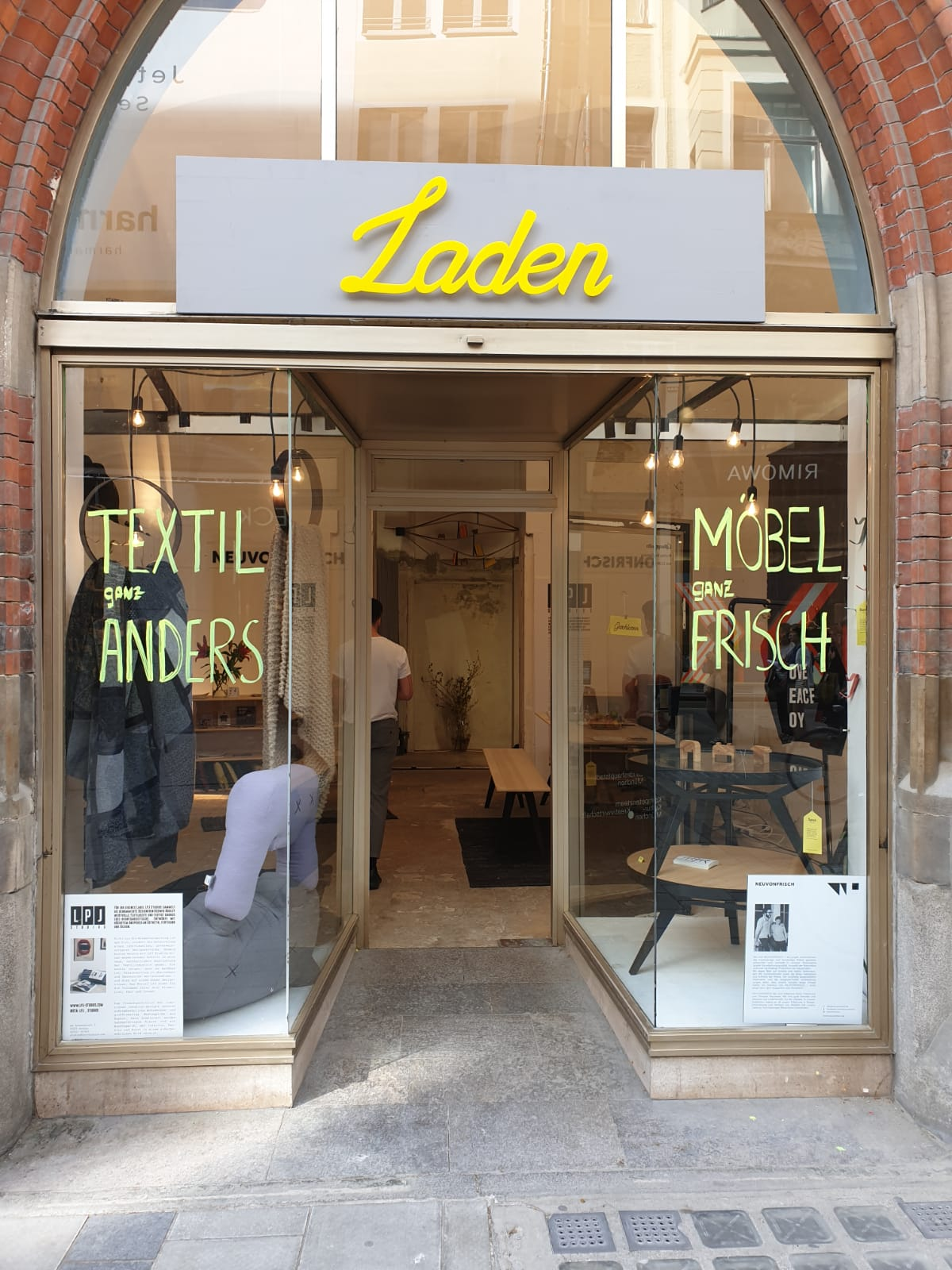 Pop Up Store in München