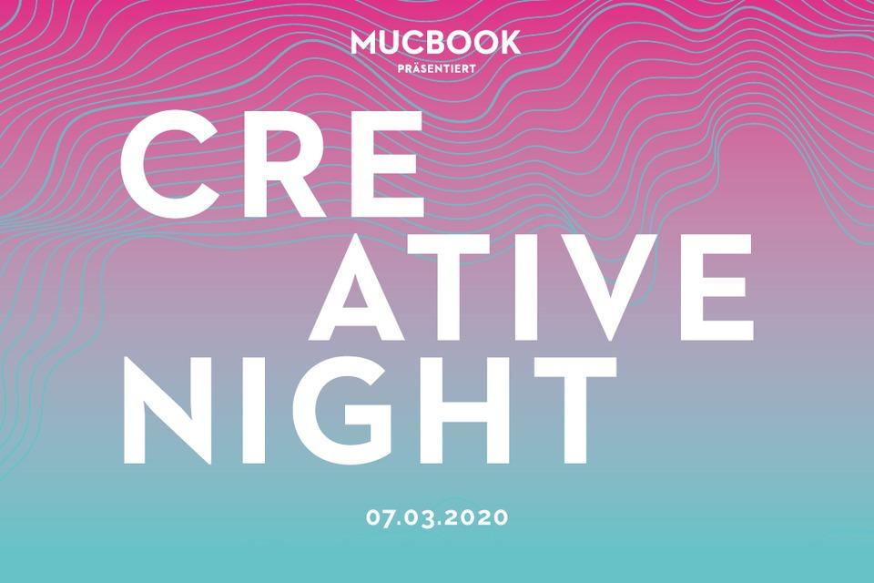mucbook creative night - 7.März 2020